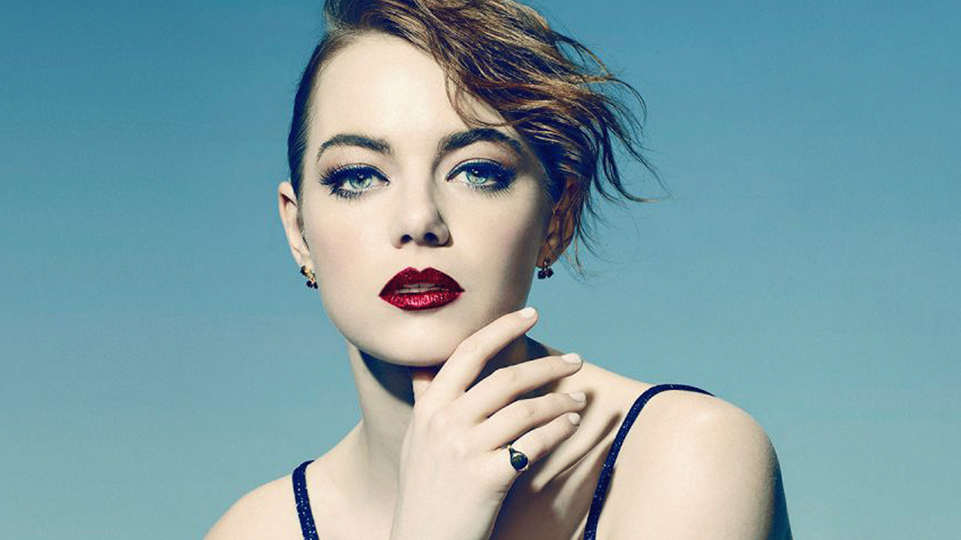 desktop-wallpaper-laptop-mac-macbook-air-hl74-emma-stone-blue-red-lips-girl-actress-wallpaper