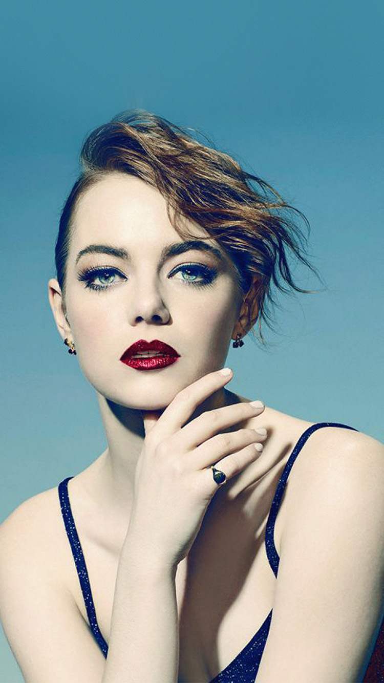 iPhone7papers.com-Apple-iPhone7-iphone7plus-wallpaper-hl74-emma-stone-blue-red-lips-girl-actress