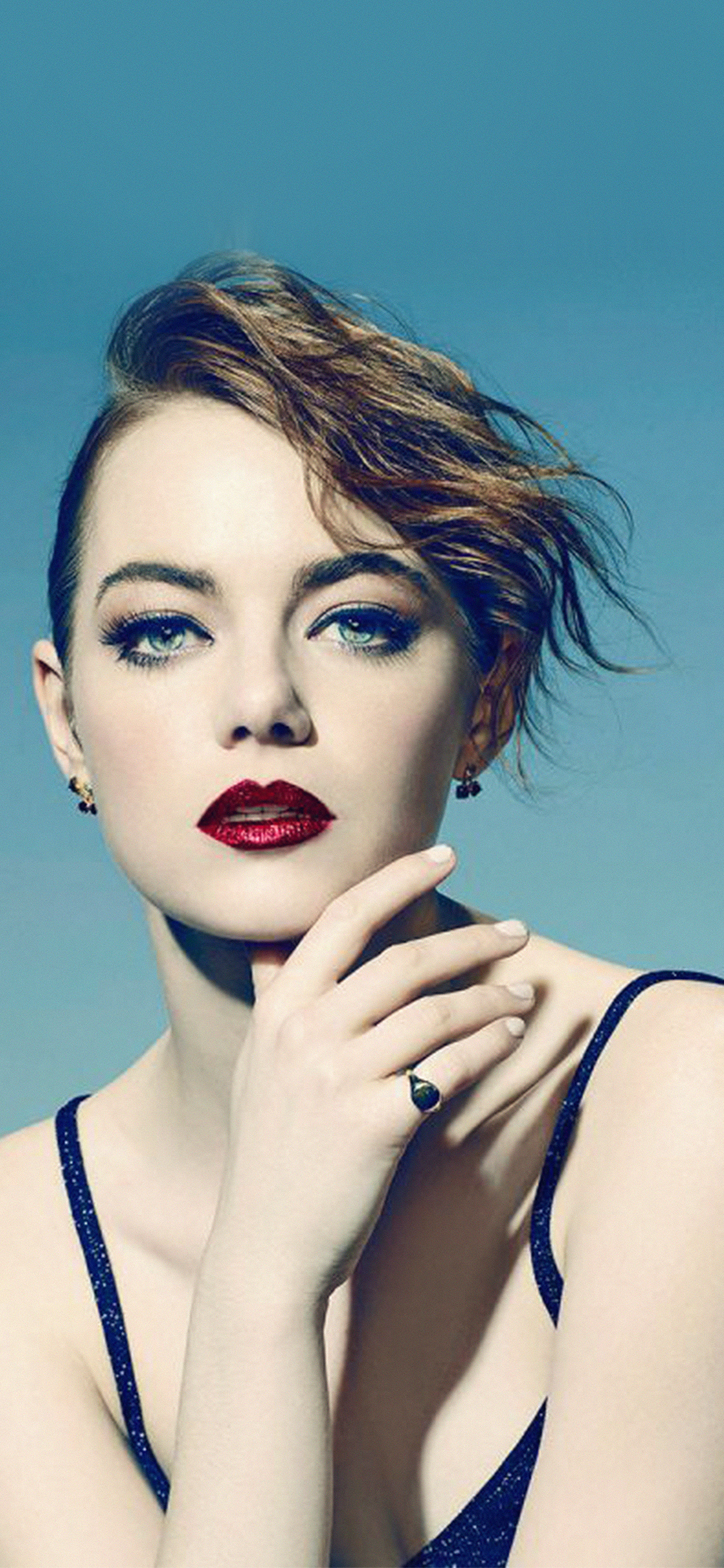 iPhoneXpapers.com-Apple-iPhone-wallpaper-hl74-emma-stone-blue-red-lips-girl-actress