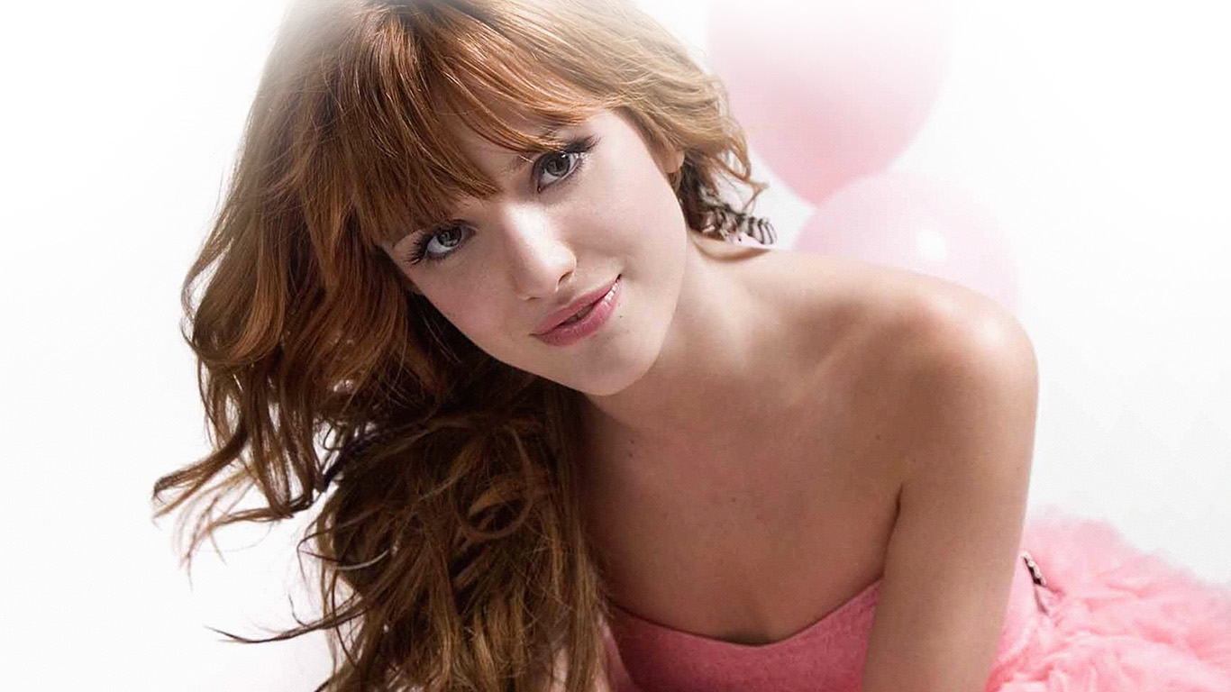 desktop-wallpaper-laptop-mac-macbook-air-hl80-bella-thorne-pink-dress-smile-wallpaper