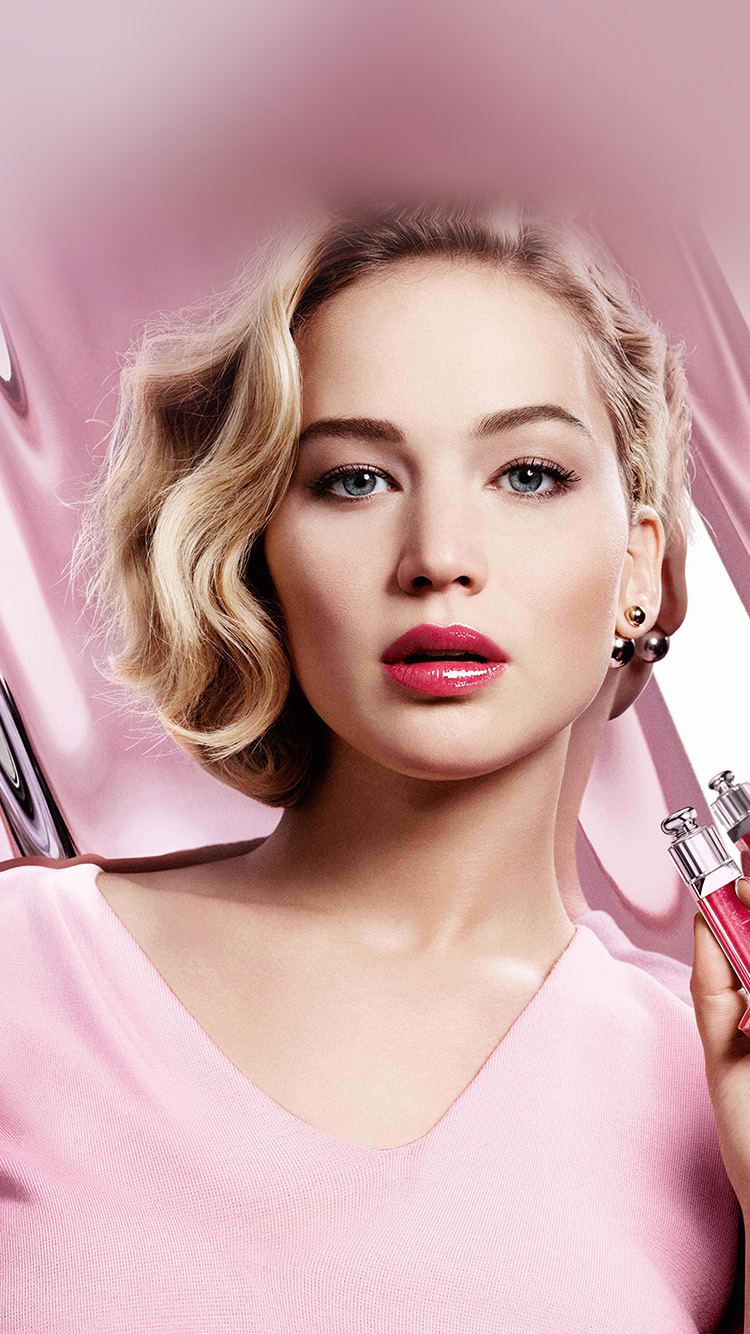 iPhone7papers.com-Apple-iPhone7-iphone7plus-wallpaper-hl83-jennifer-lawrence-pink-model-celebrity-lips