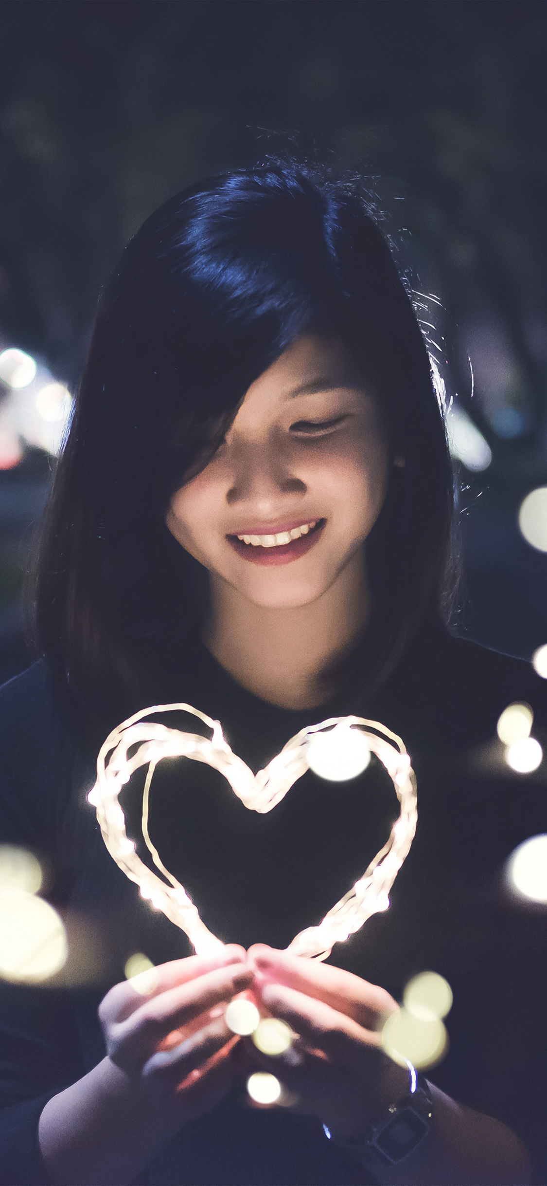 iPhoneXpapers.com-Apple-iPhone-wallpaper-hm03-love-girl-light-dark-night-bokeh