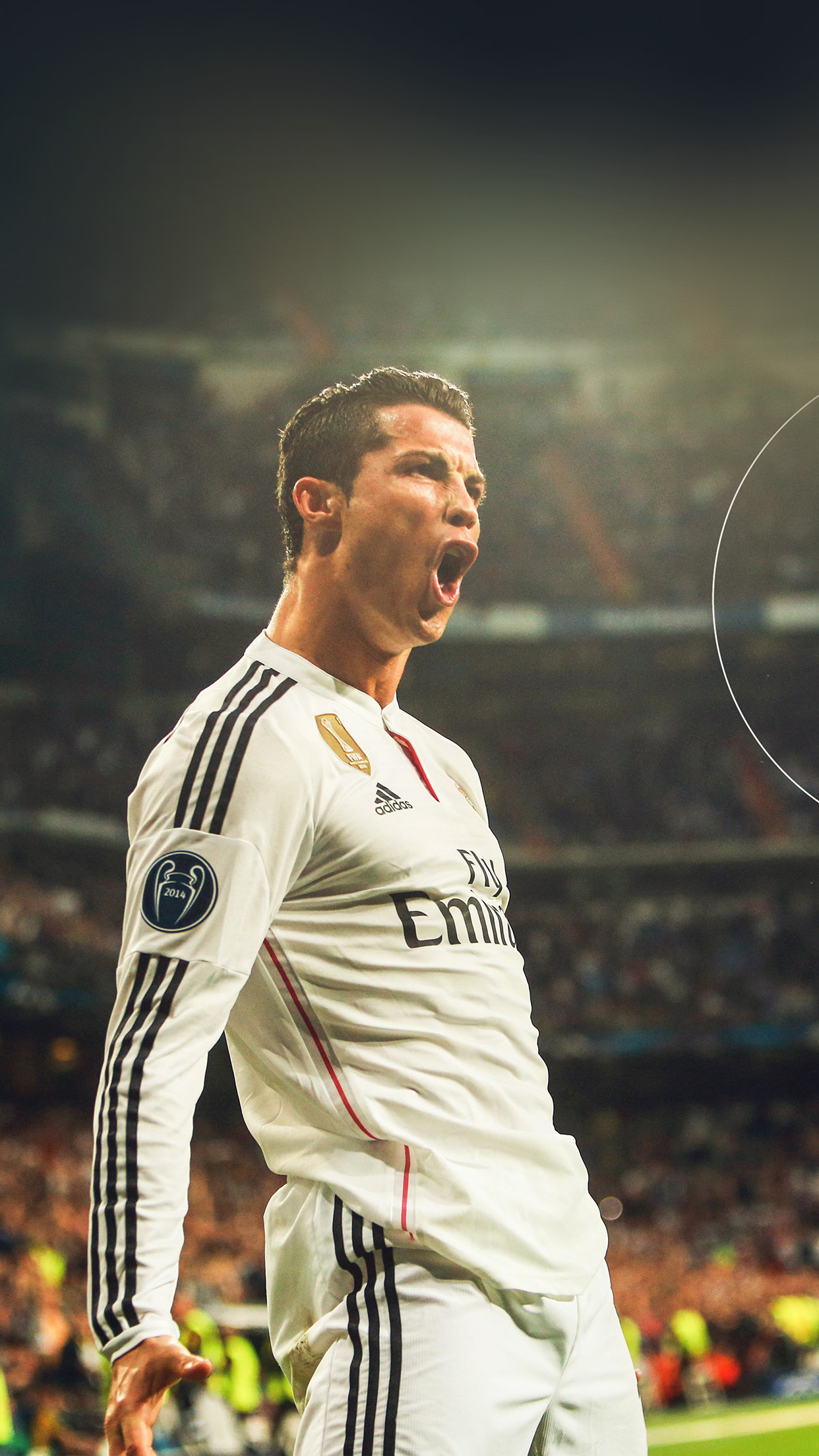 Iphone6paperscom Iphone 6 Wallpaper Hm08 Ronaldo Real