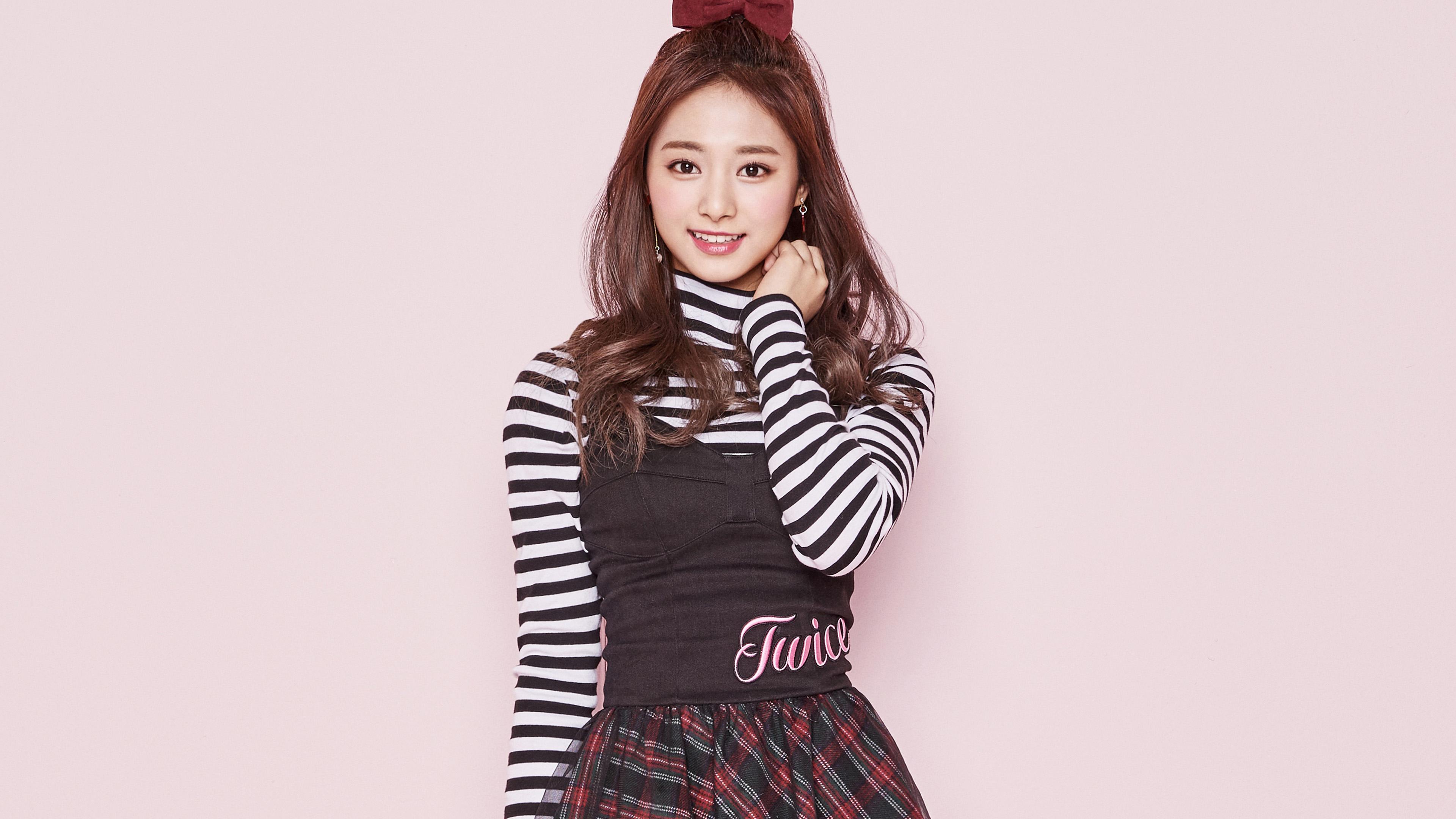 Papers Co Desktop Wallpaper Hm34 Twice Kpop Tzuyu Pink Cute