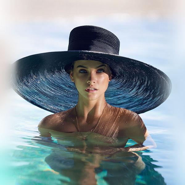 iPapers.co-Apple-iPhone-iPad-Macbook-iMac-wallpaper-hm87-model-hat-swim-sea-summer-blue-wallpaper