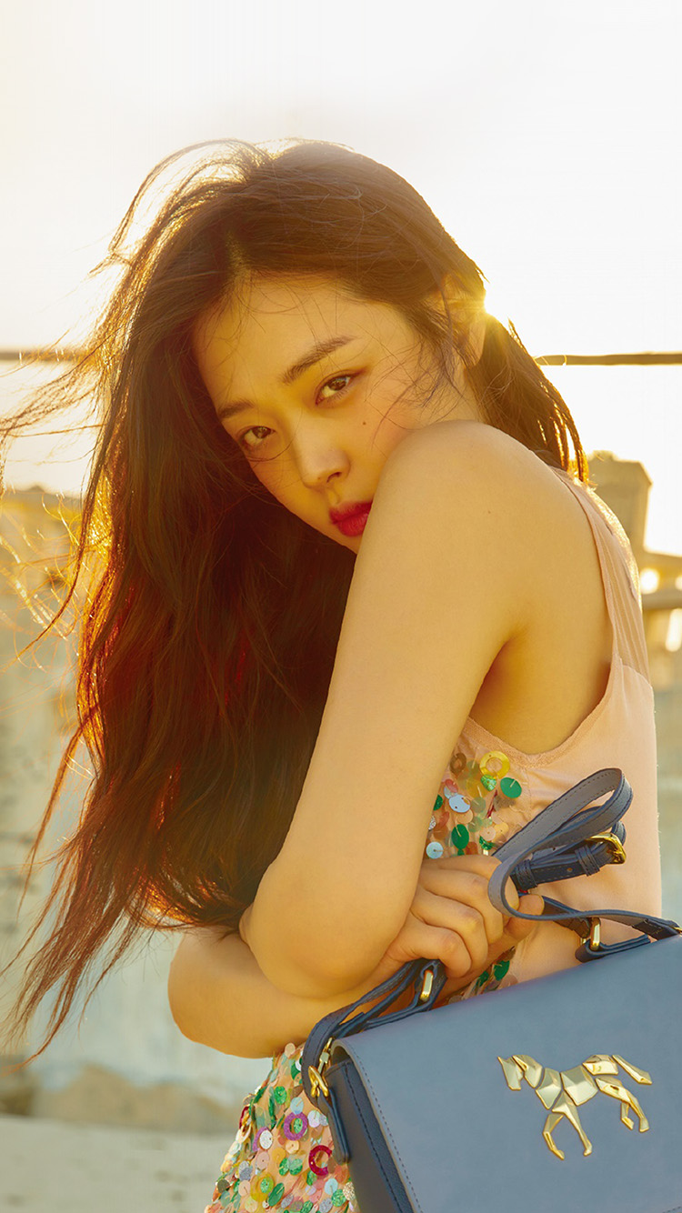 iPhone6papers.co-Apple-iPhone-6-iphone6-plus-wallpaper-hn10-sulli-girl-sunset-kpop-asian