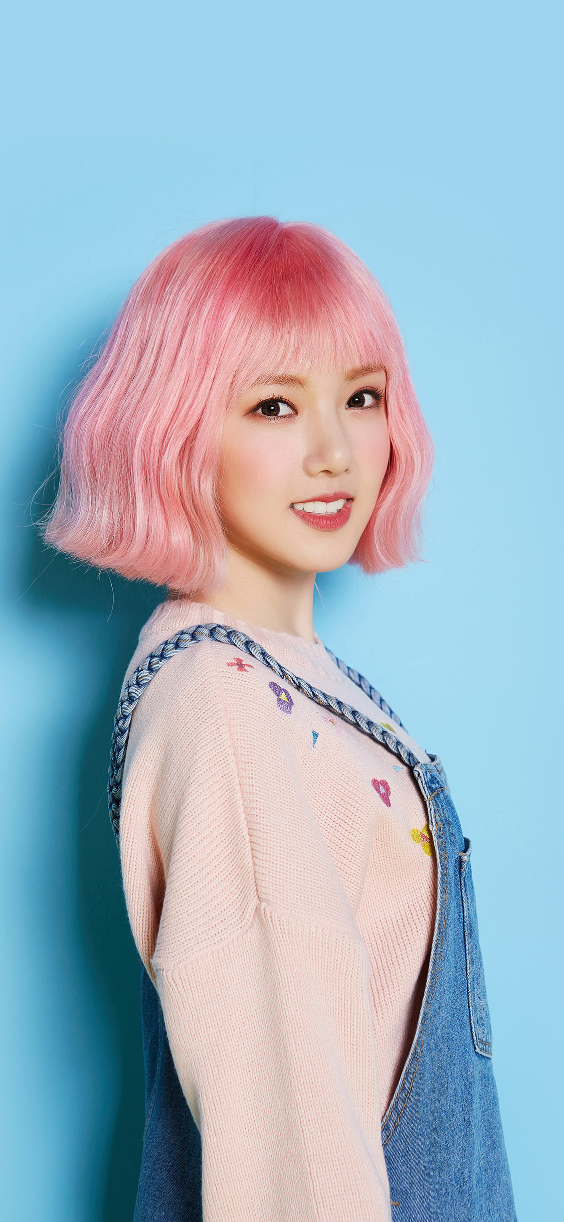 iPhoneXpapers.com-Apple-iPhone-wallpaper-hn15-pink-hair-asian-kpop-girl