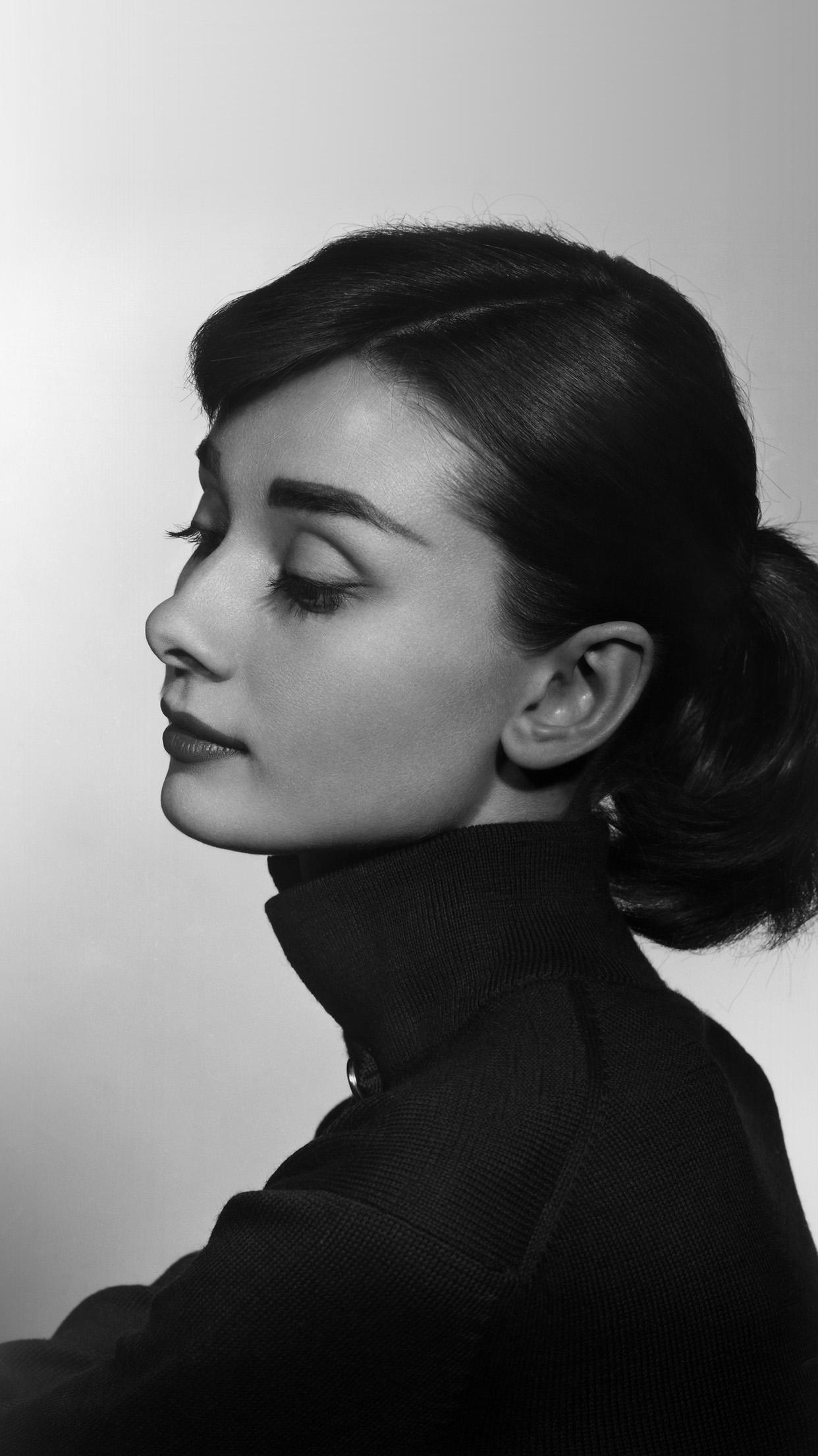 Iphone7paperscom Iphone7 Wallpaper Hn97 Audrey Hepburn