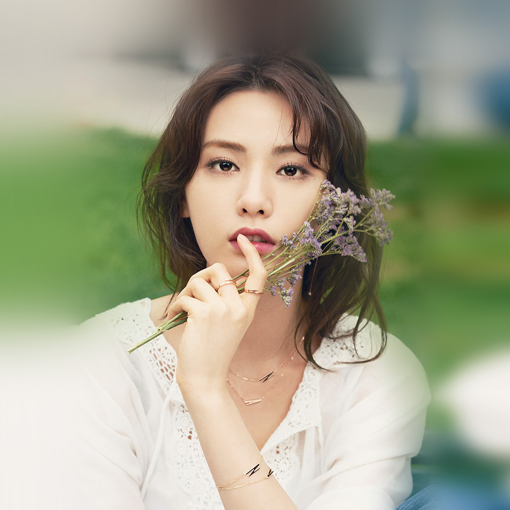 wallpaper-ho11-nana-girl-flower-wallpaper