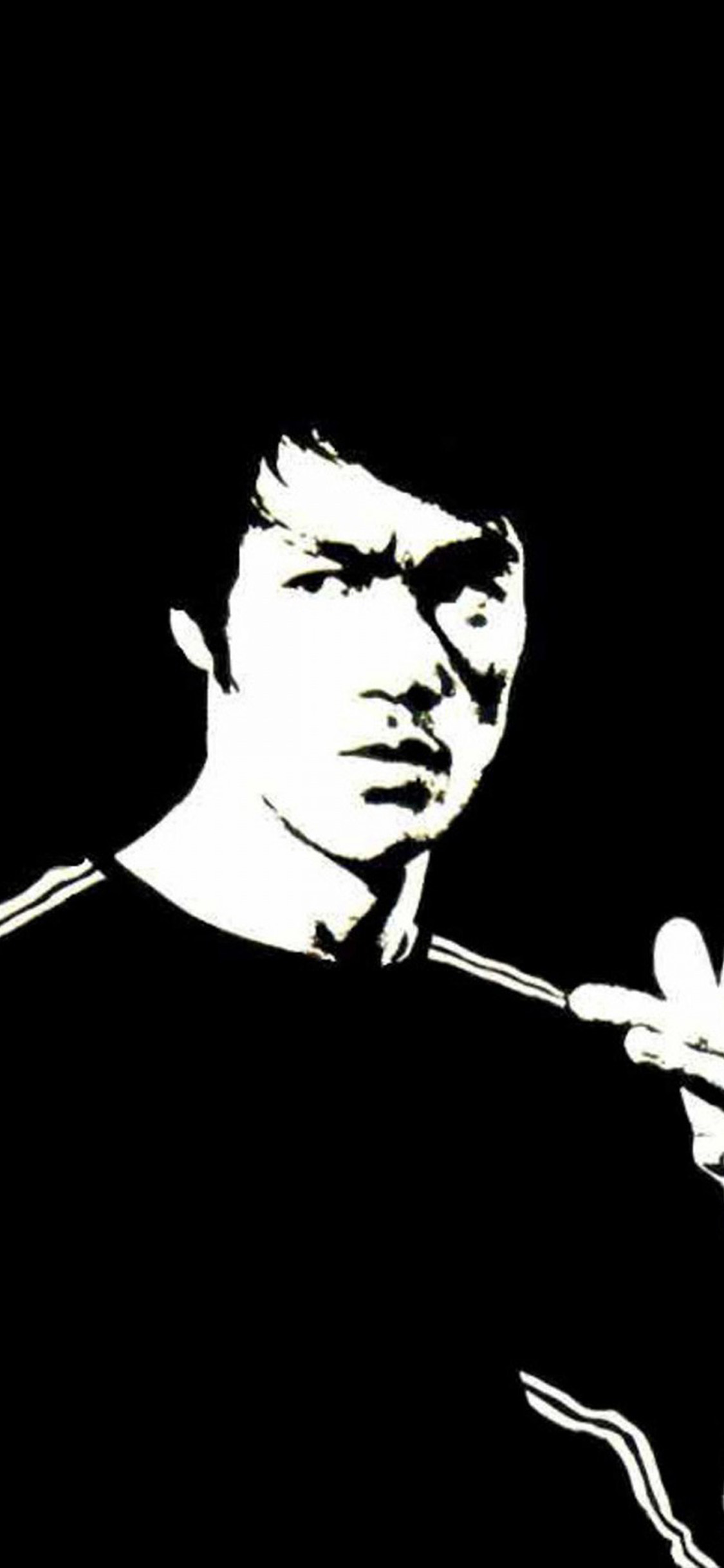 iPhoneXpapers.com-Apple-iPhone-wallpaper-ho40-bruce-lee-dark-bw-hero