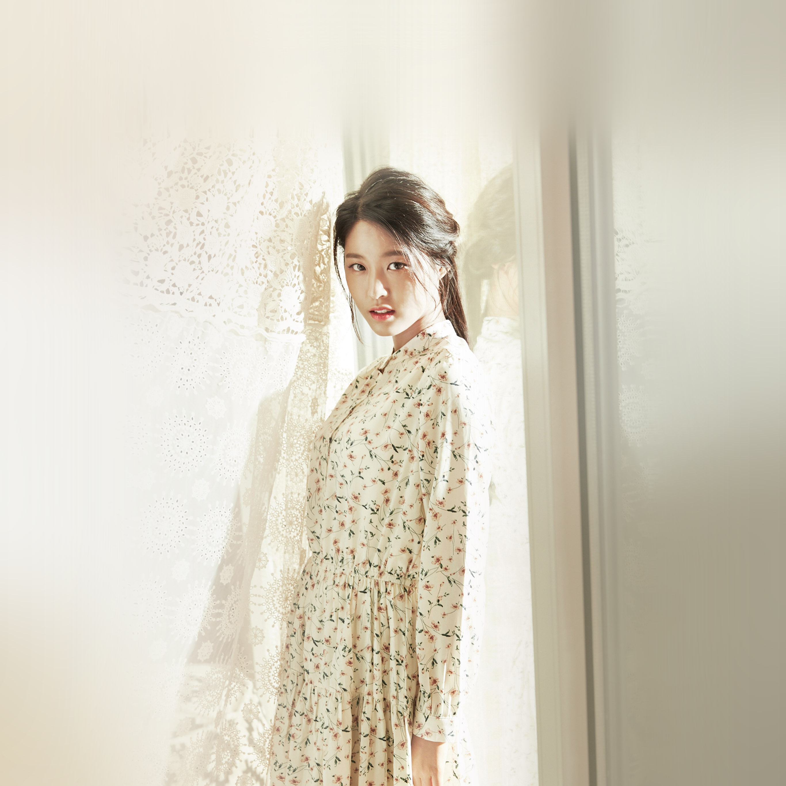 Papersco Ipad Wallpaper Ho44 Girl Sulhyun Cute Smile Kpop