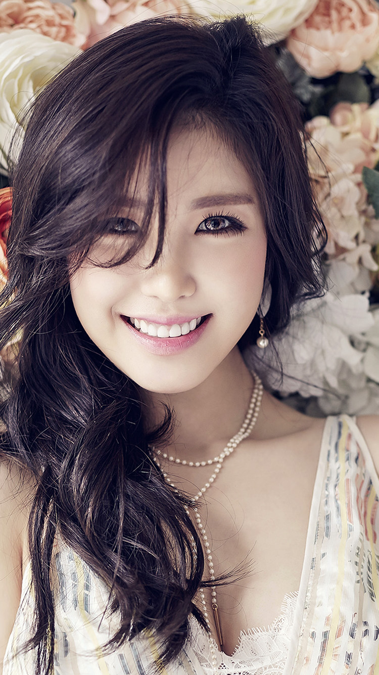 iPhone6papers.co-Apple-iPhone-6-iphone6-plus-wallpaper-ho56-flower-girl-kpop-hyosung-asian-smile