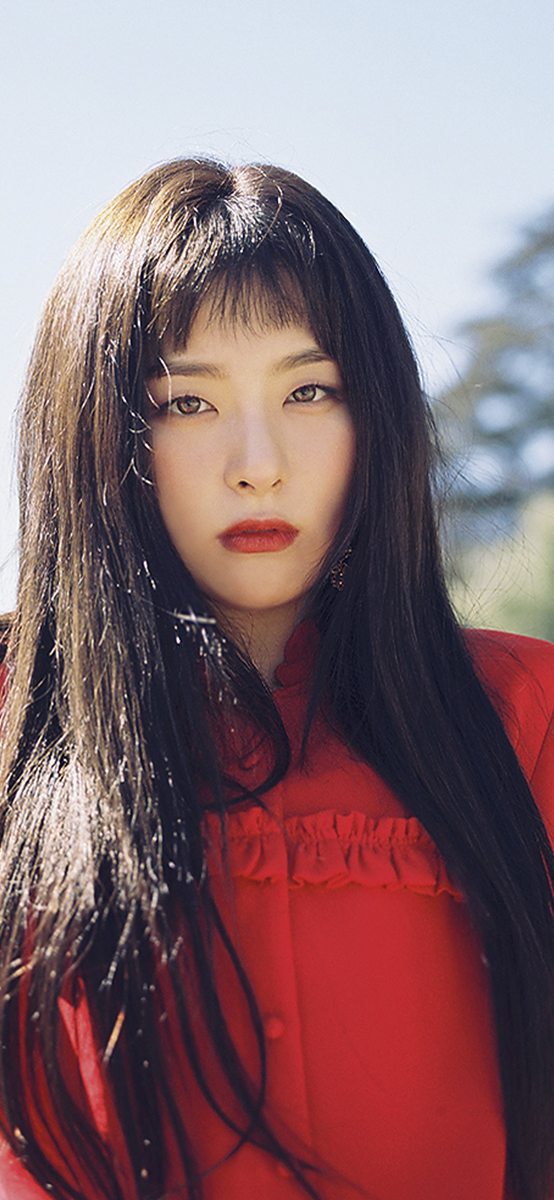 iPhonexpapers.com-Apple-iPhone-wallpaper-ho85-kpop-girl-red-dress