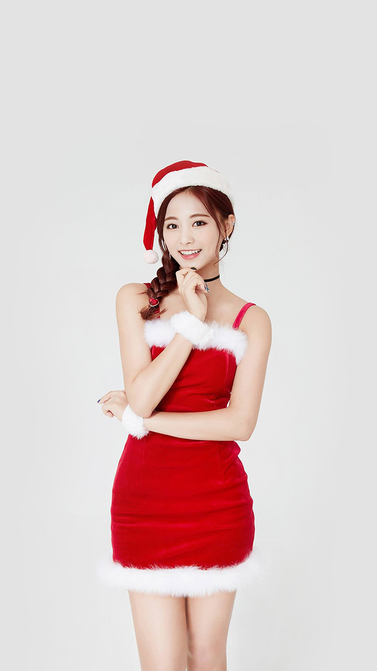 iPhone6papers.co-Apple-iPhone-6-iphone6-plus-wallpaper-hp14-twice-tzuyu-girl-christmas-kpop