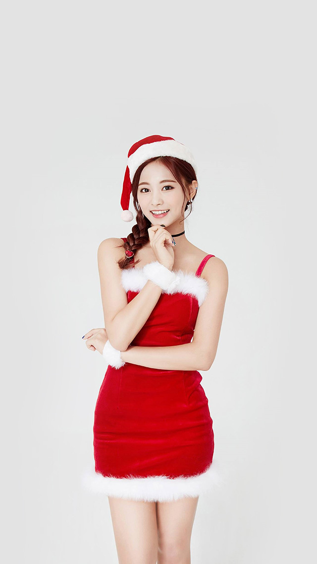 freeios8.com-iphone-4-5-6-plus-ipad-ios8-hp14-twice-tzuyu-girl-christmas-kpop