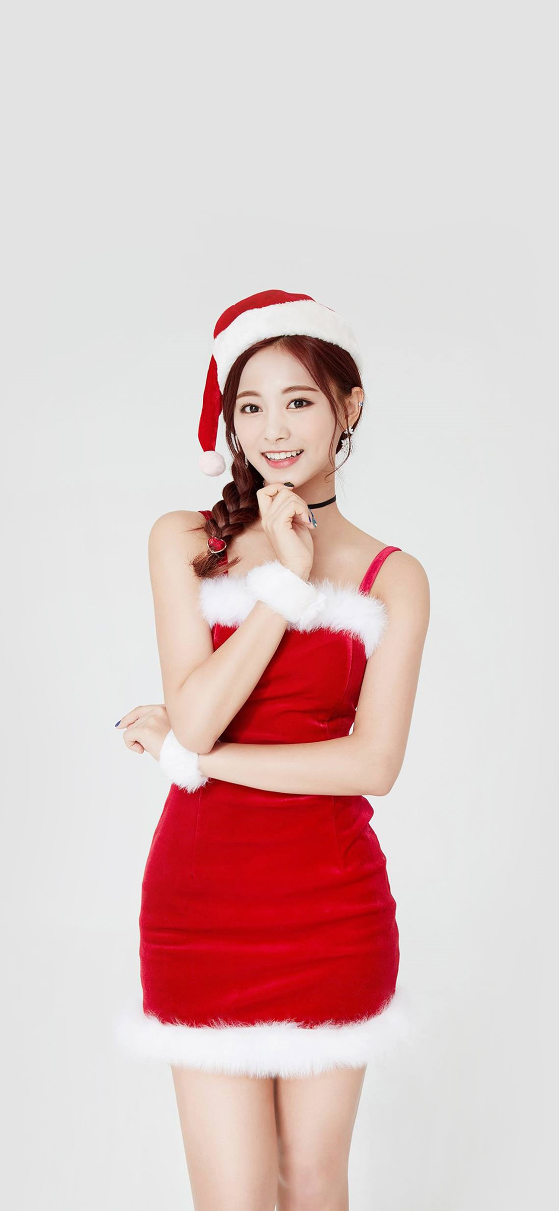 iPhonexpapers.com-Apple-iPhone-wallpaper-hp14-twice-tzuyu-girl-christmas-kpop