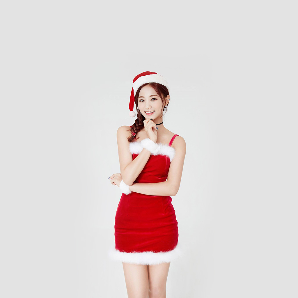 wallpaper-hp14-twice-tzuyu-girl-christmas-kpop-wallpaper