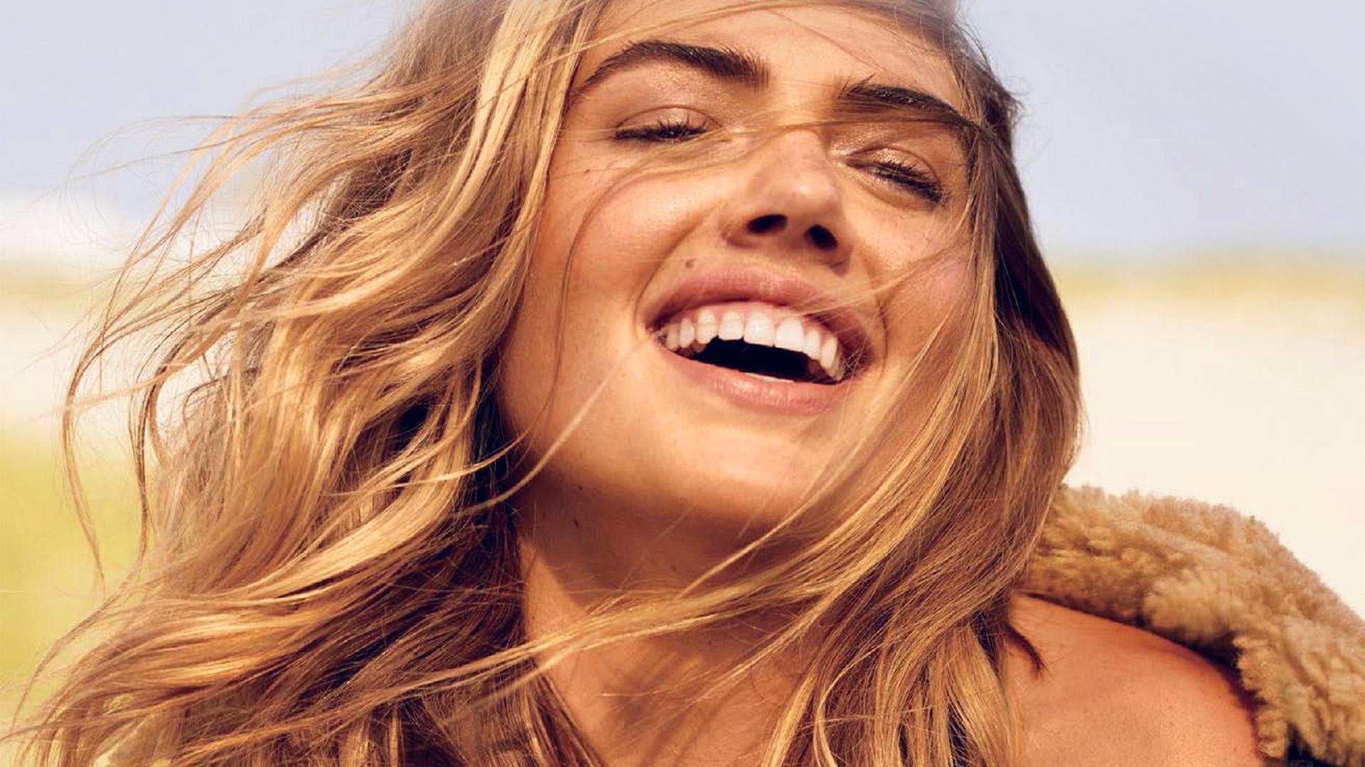 I love papers hp23 smile girl model kate upton - 4k kate upton ...