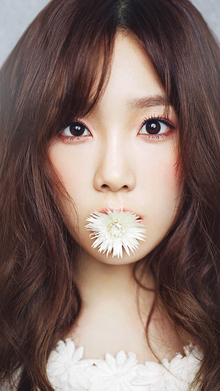 Papers.co-iPhone5-iphone6-plus-wallpaper-hp45-kpop-taeyeon-korean-asian-girl