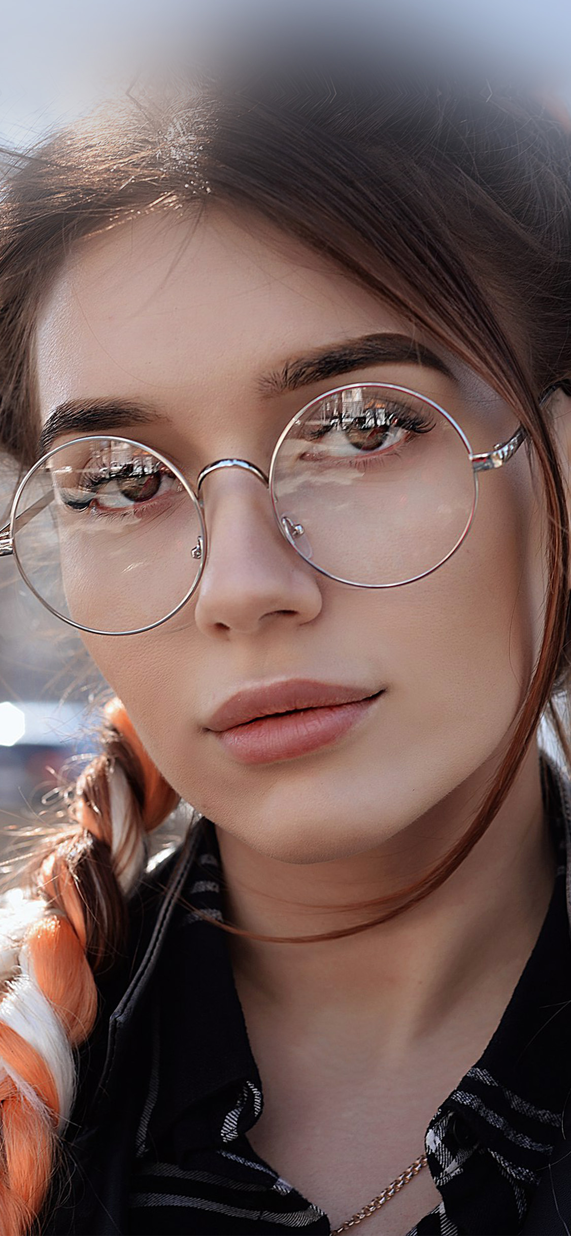 iPhonexpapers.com-Apple-iPhone-wallpaper-hp49-dua-lipa-girl-glasses