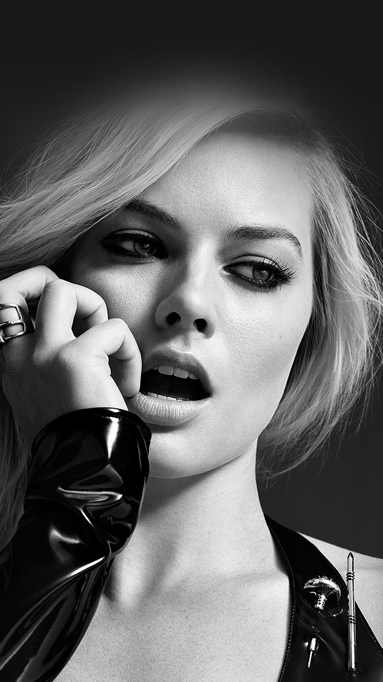 iPhone6papers.co-Apple-iPhone-6-iphone6-plus-wallpaper-hp54-margot-robbie-celebrity-girl-bw