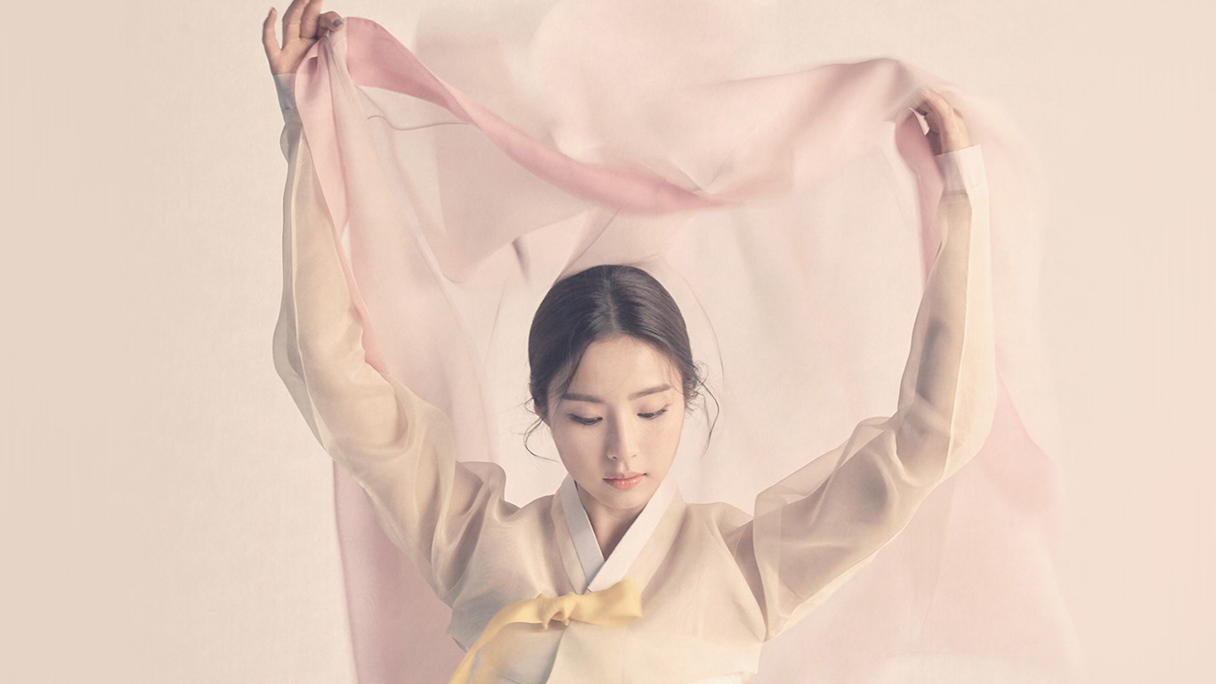 Wallpaper For Desktop Laptop Hp65 Korean Asian Kpop Girl Dress Pink