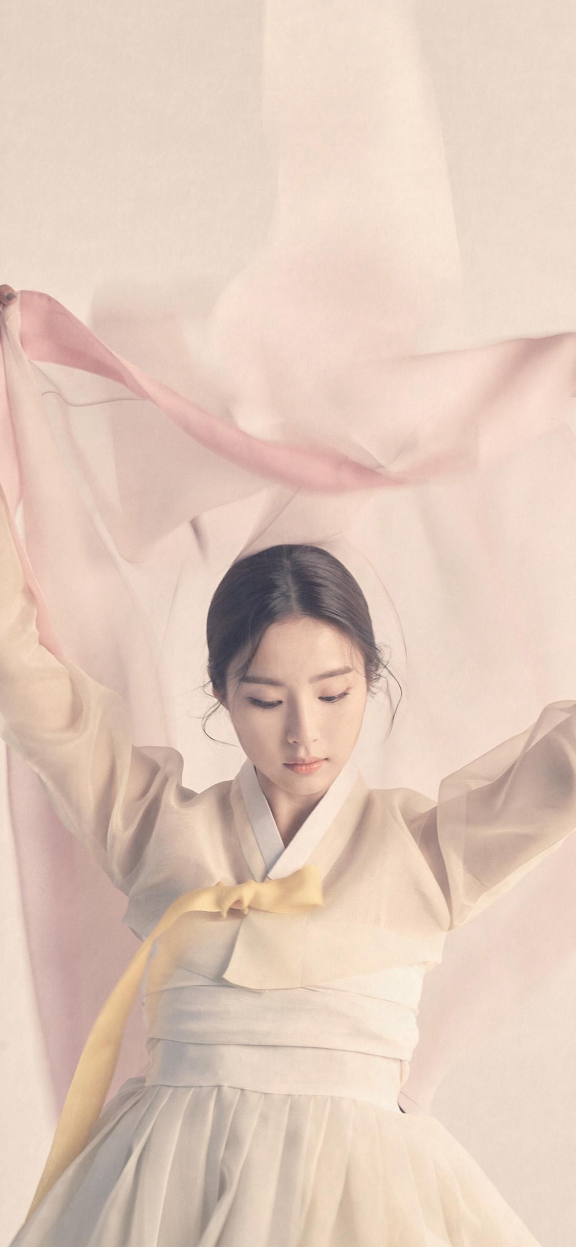 iPhonexpapers.com-Apple-iPhone-wallpaper-hp65-korean-asian-kpop-girl-dress-pink