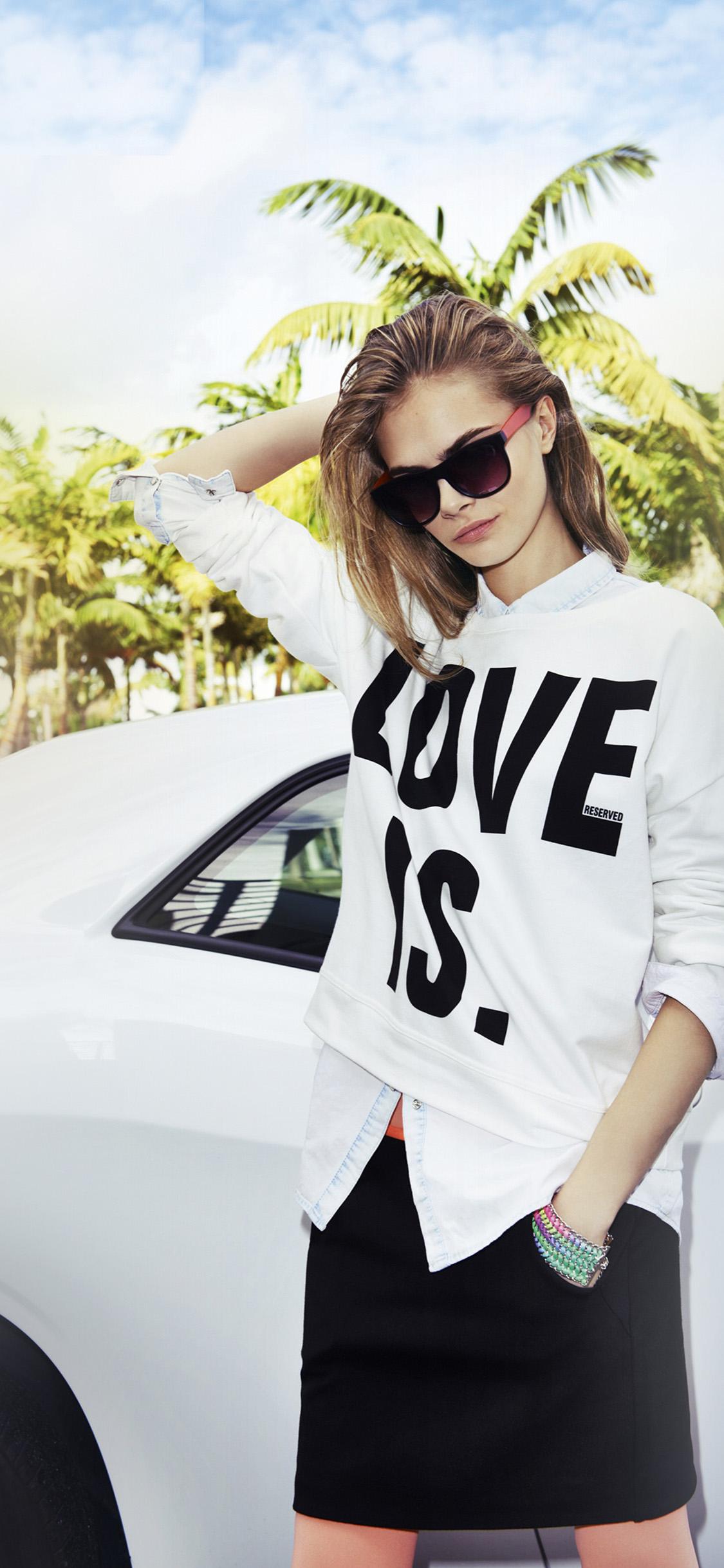 iPhonexpapers.com-Apple-iPhone-wallpaper-hp81-cara-delevigne-model-sunglass-summer-girl