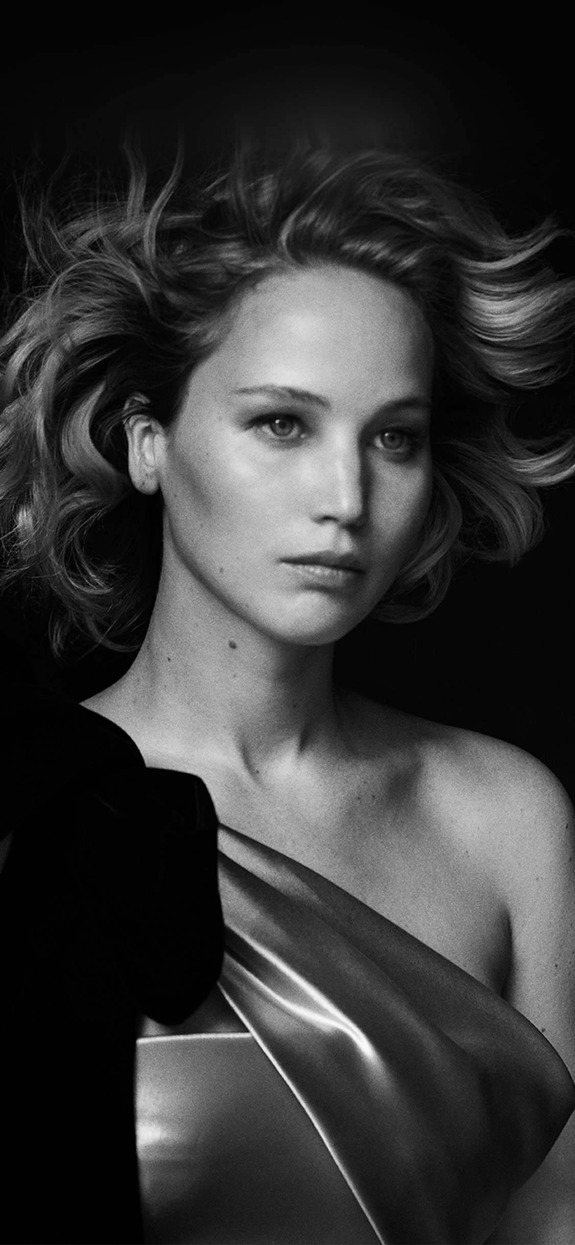 iPhonexpapers.com-Apple-iPhone-wallpaper-hp82-girl-bw-celebrity-film-actress