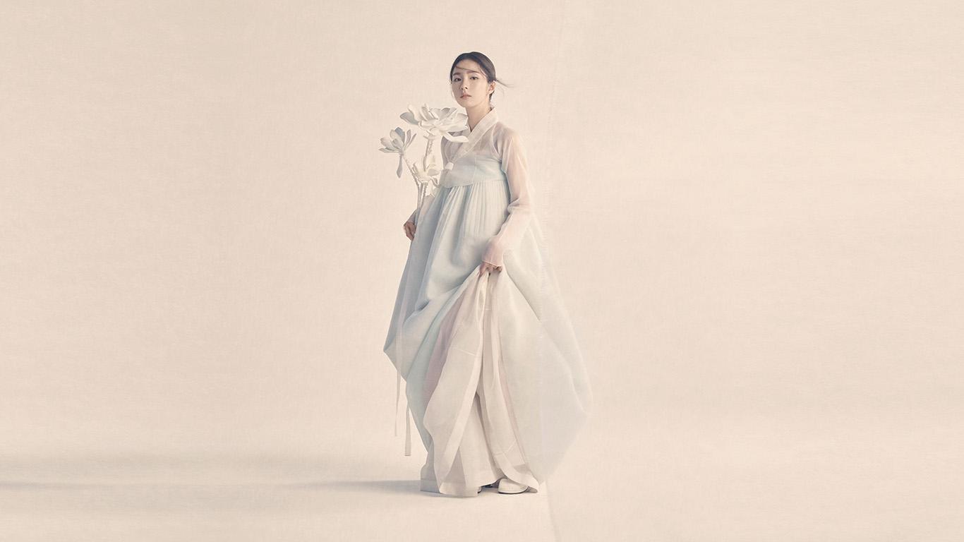 Hp86 Korean Hanbok Dress Traditional Girl Asian Wallpaper