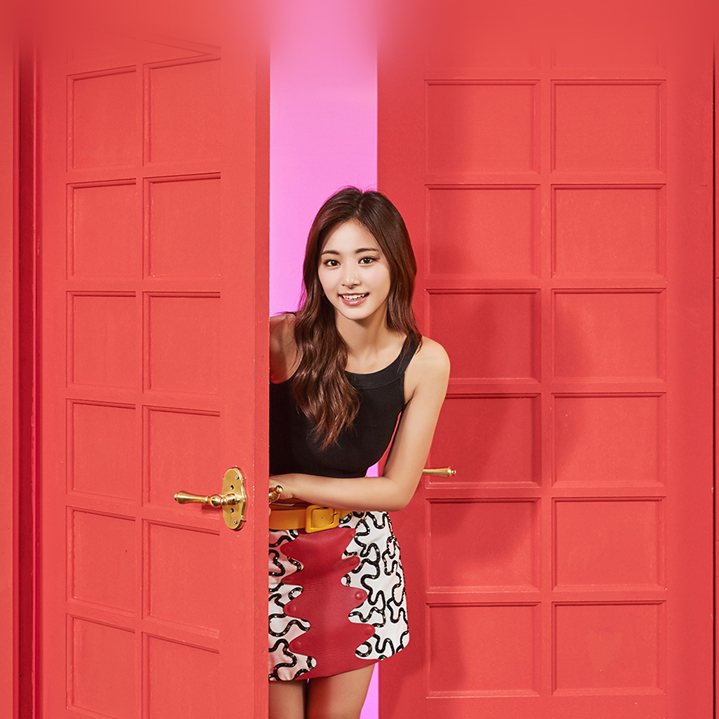 wallpaper-hq27-twice-girl-tzuyu-red-music-kpop-aisan-wallpaper