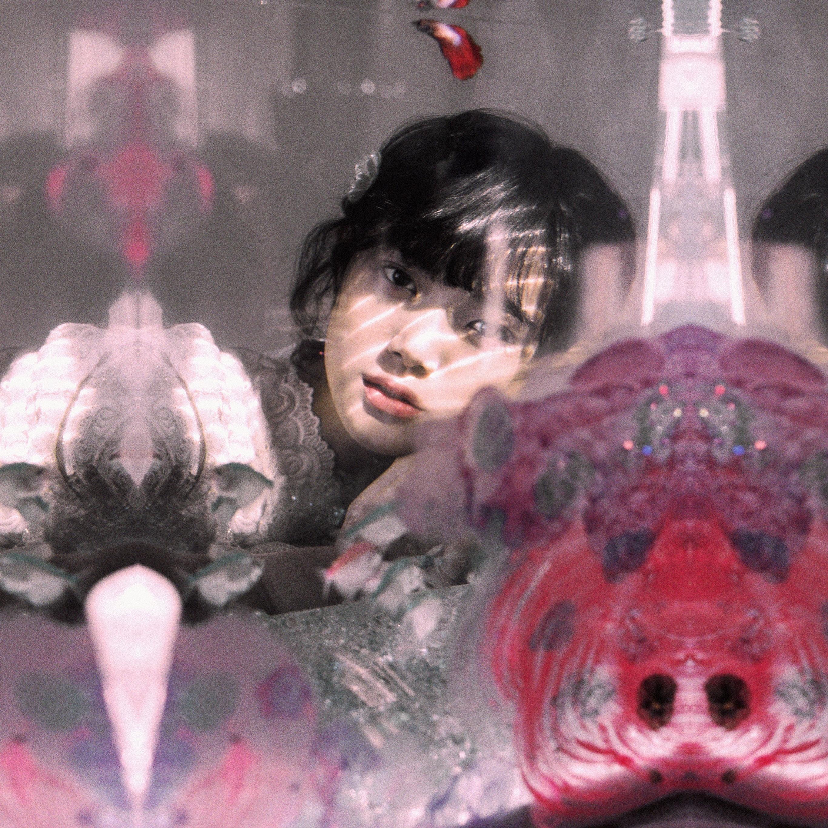 Hq36 Girl Asian Red Kpop Wallpaper