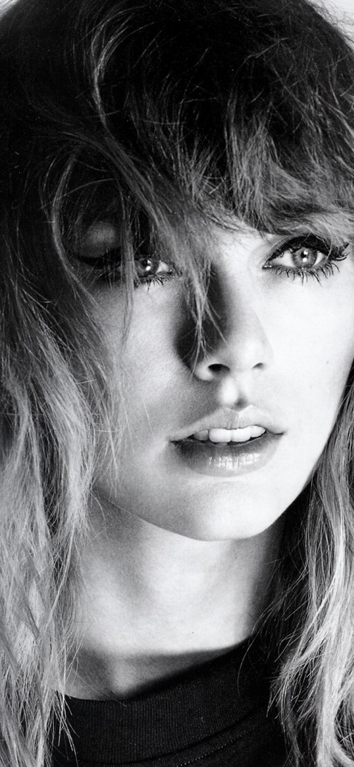 iPhonexpapers.com-Apple-iPhone-wallpaper-hq42-taylor-swift-girl-bw-dark-music-face