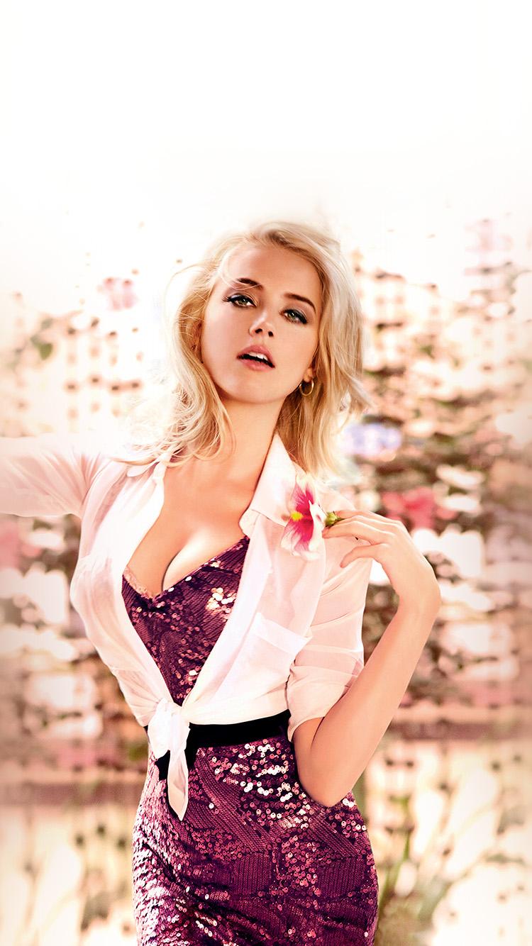 iPhonepapers.com-Apple-iPhone-wallpaper-hq53-girl-amber-heard-pink-celebrity-actress-film