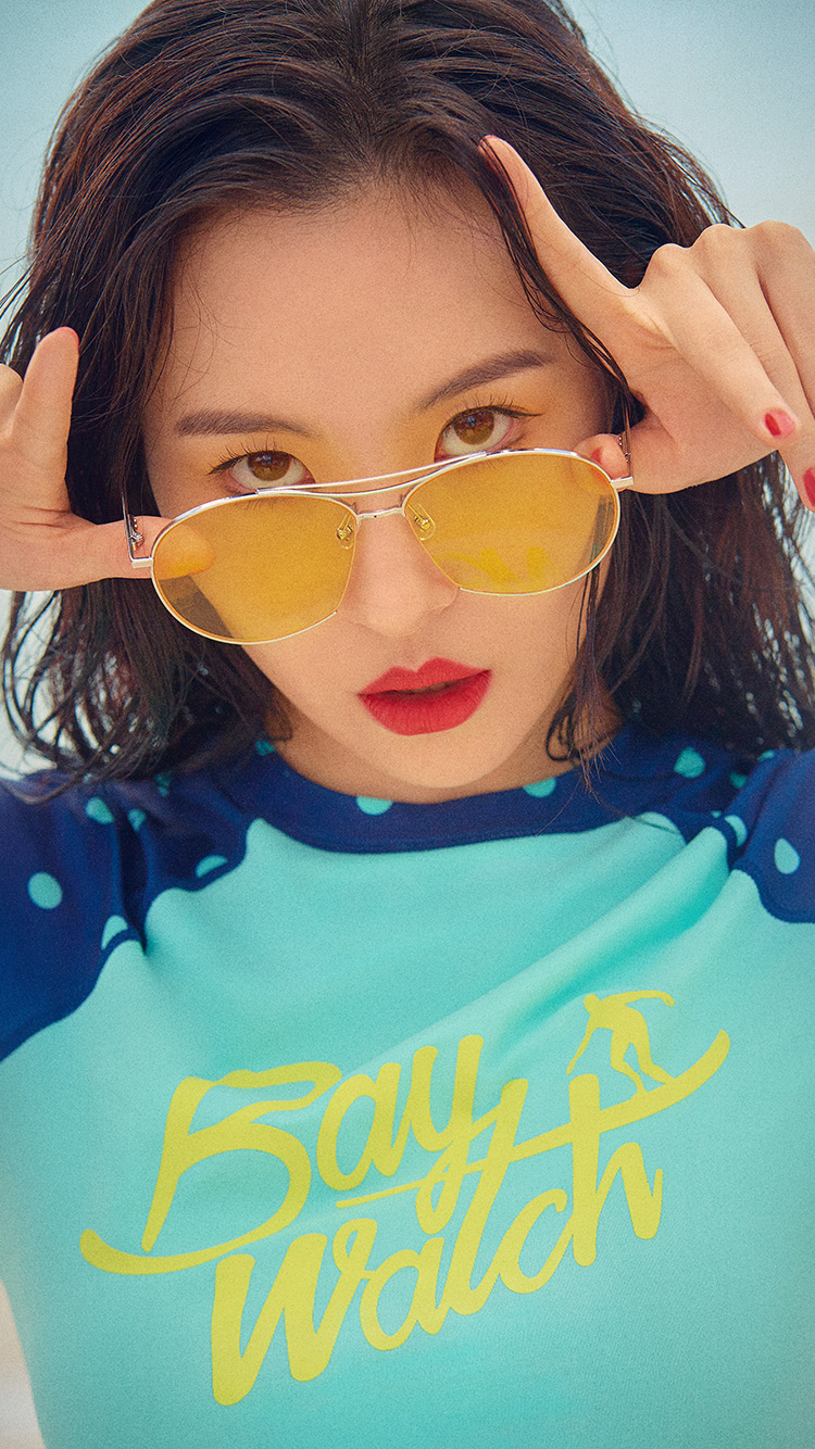 Papers.co-iPhone5-iphone6-plus-wallpaper-hq58-baywatch-girl-kpop-sunmi-summer-beach