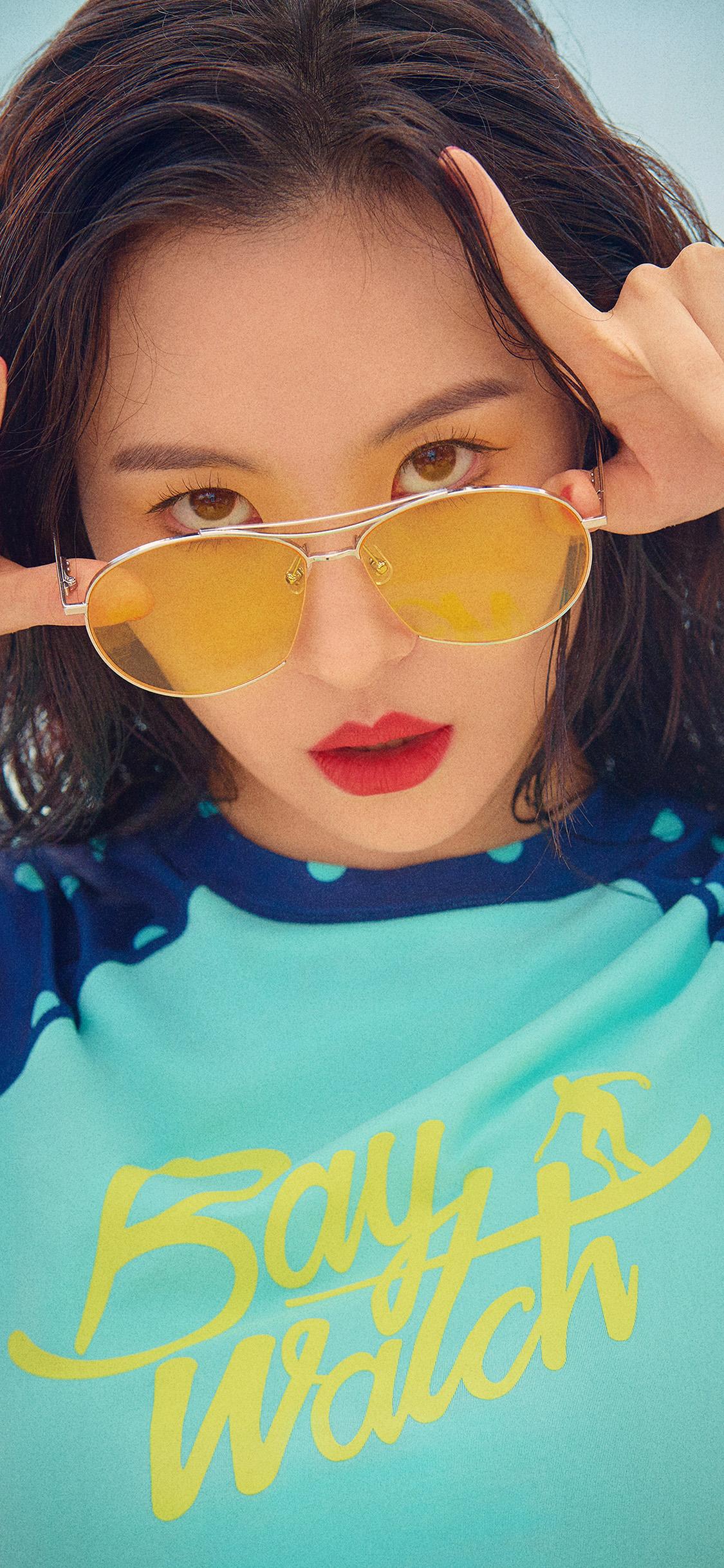 iPhonexpapers.com-Apple-iPhone-wallpaper-hq58-baywatch-girl-kpop-sunmi-summer-beach