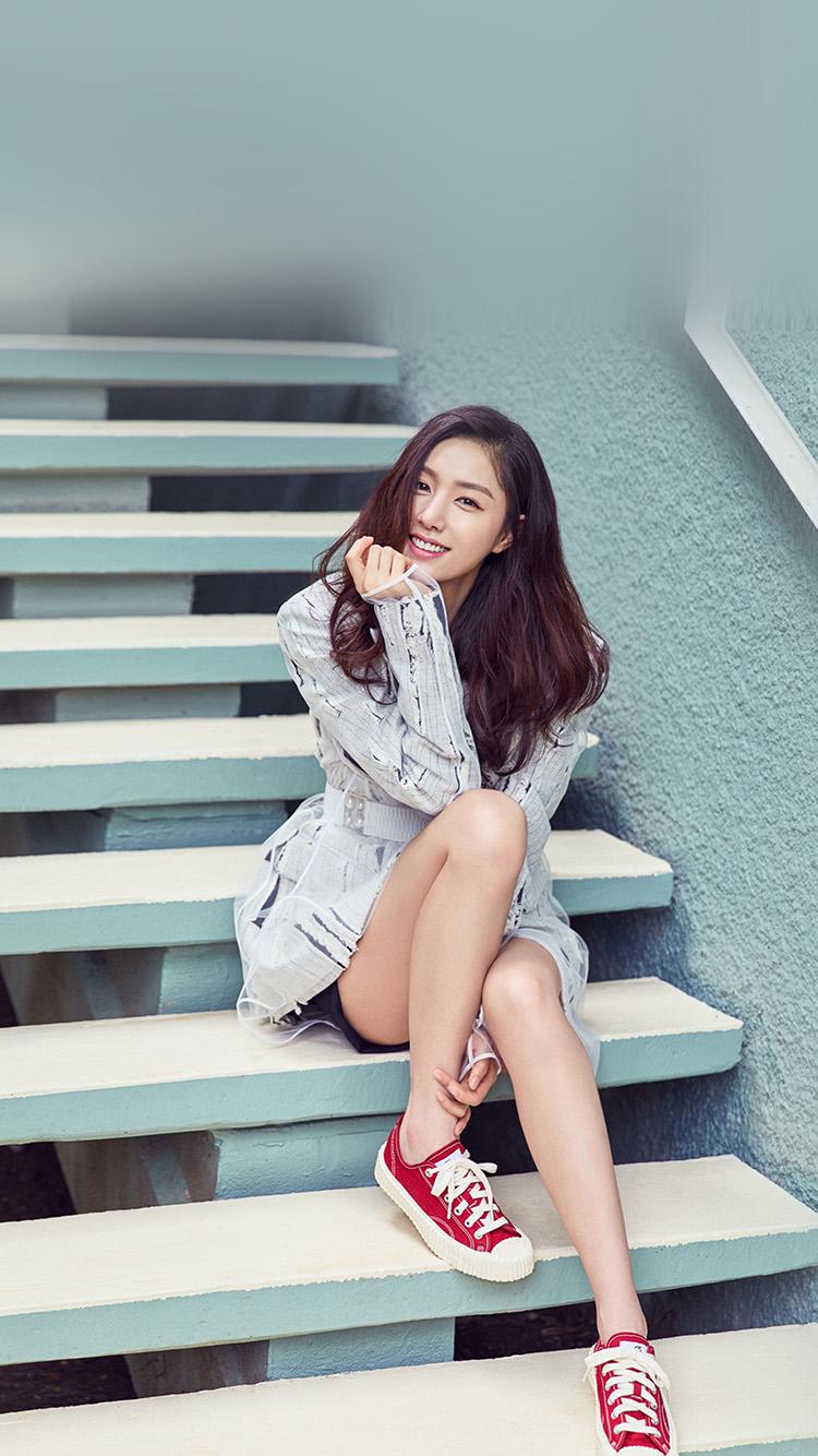 Papers Co Iphone Wallpaper Hq75 Kpop Girl Stair Korean