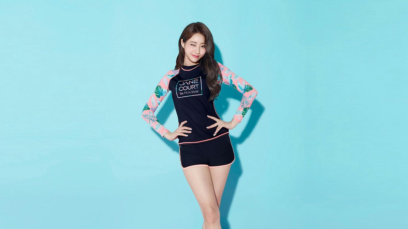 desktop-wallpaper-laptop-mac-macbook-air-hq83-girl-asian-blue-summer-kyungli-kpop-wallpaper
