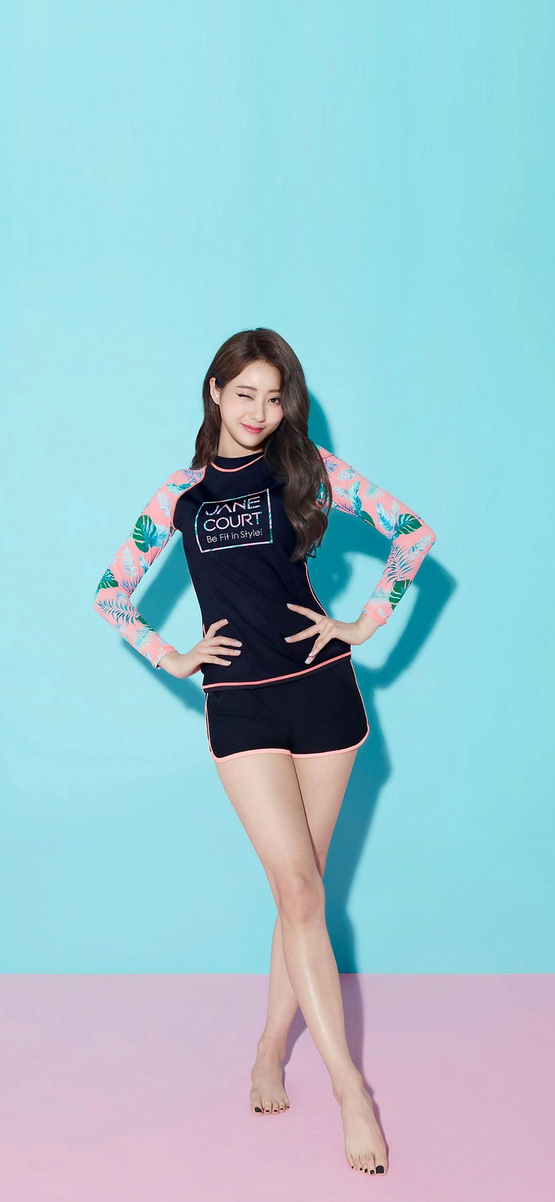 iPhonexpapers.com-Apple-iPhone-wallpaper-hq83-girl-asian-blue-summer-kyungli-kpop