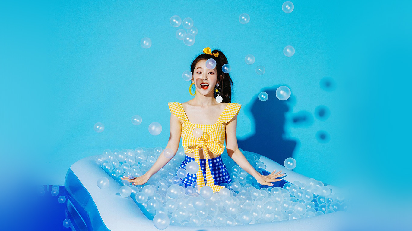 desktop-wallpaper-laptop-mac-macbook-air-hr03-blue-girl-redvelvet-kpop-summer-water-wallpaper