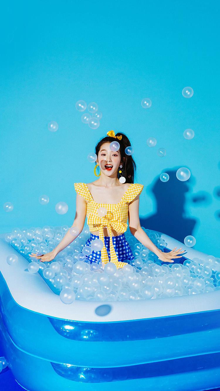 iPhonepapers.com-Apple-iPhone-wallpaper-hr03-blue-girl-redvelvet-kpop-summer-water