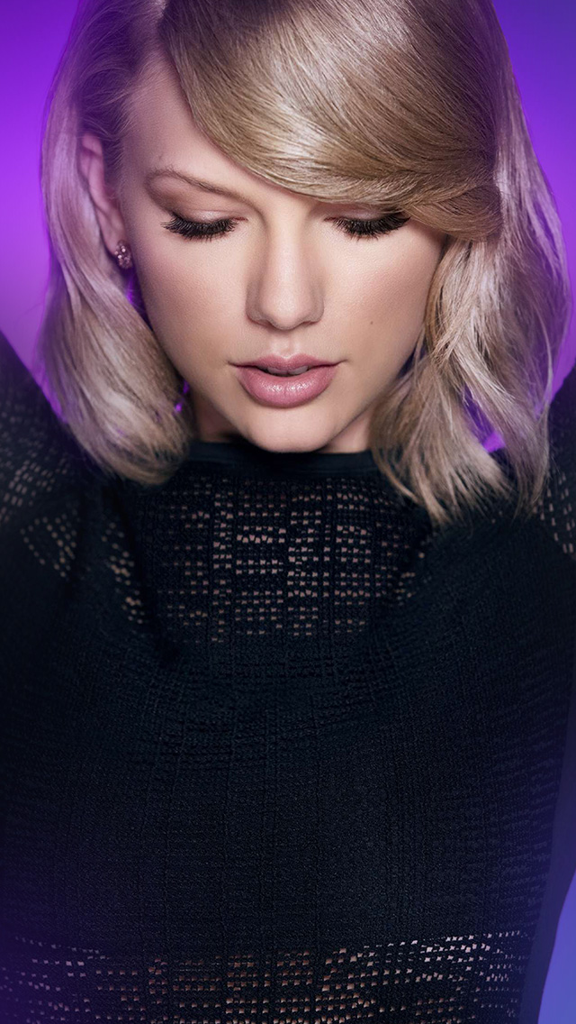 freeios8.com-iphone-4-5-6-plus-ipad-ios8-hr42-taylor-swift-purple-girl-artist-singer