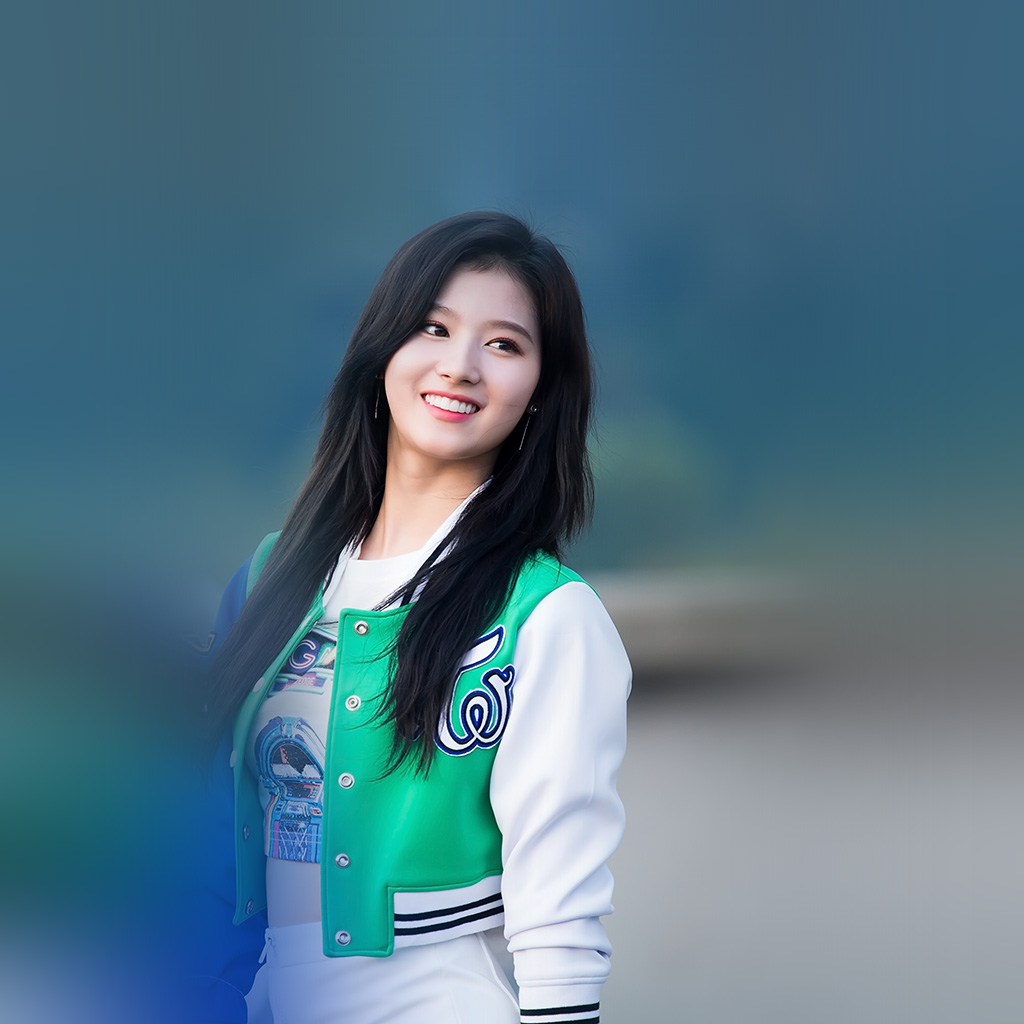 android-wallpaper-hr43-sana-girl-twice-blue-summer-wallpaper