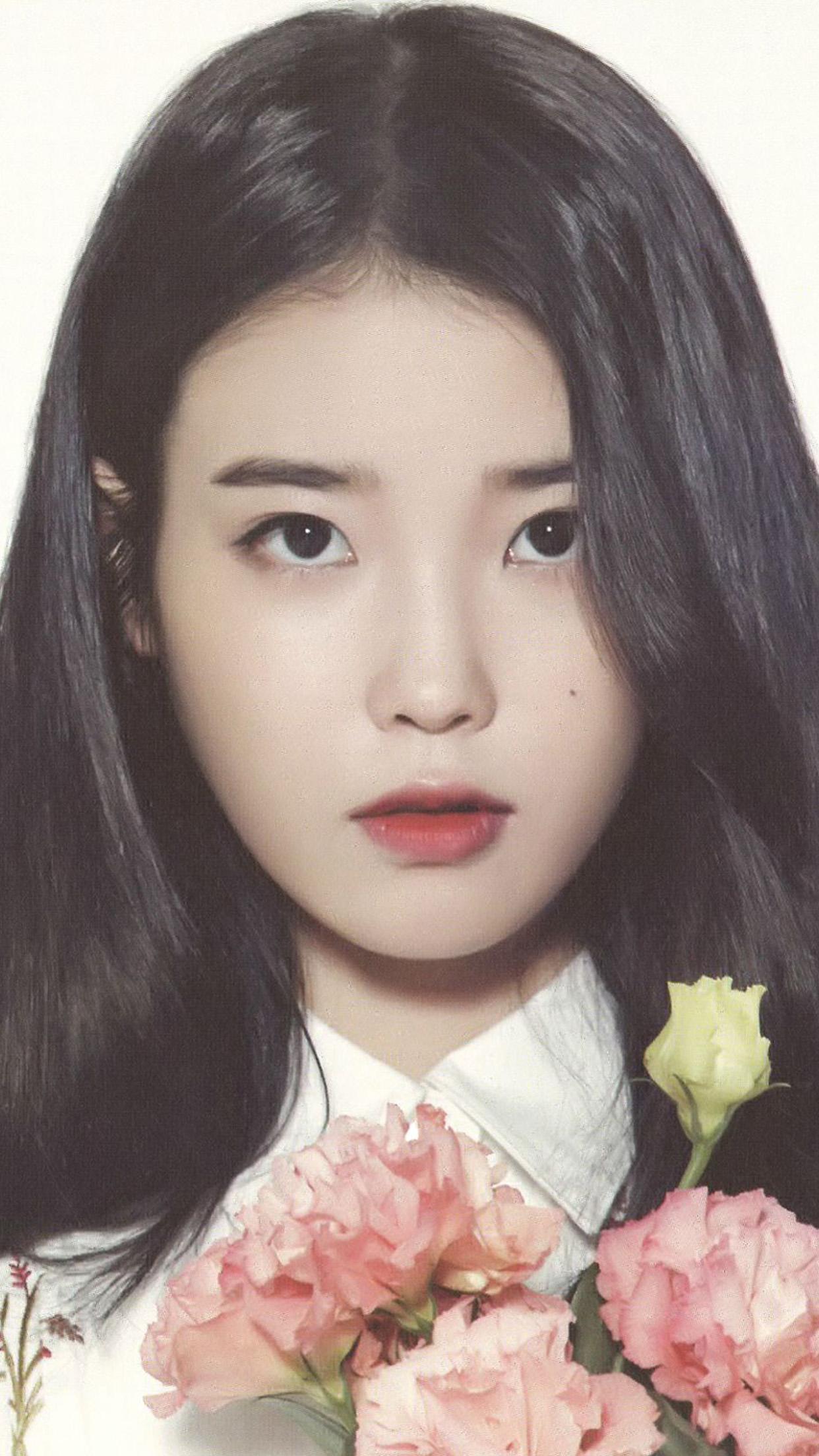 Hr44 Iu Girl Kpop Asian Artist Music Wallpaper