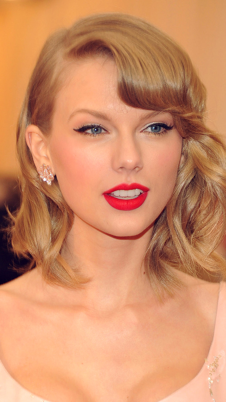 iPhonepapers.com-Apple-iPhone-wallpaper-hr75-taylor-swift-girl-dress-red-lips