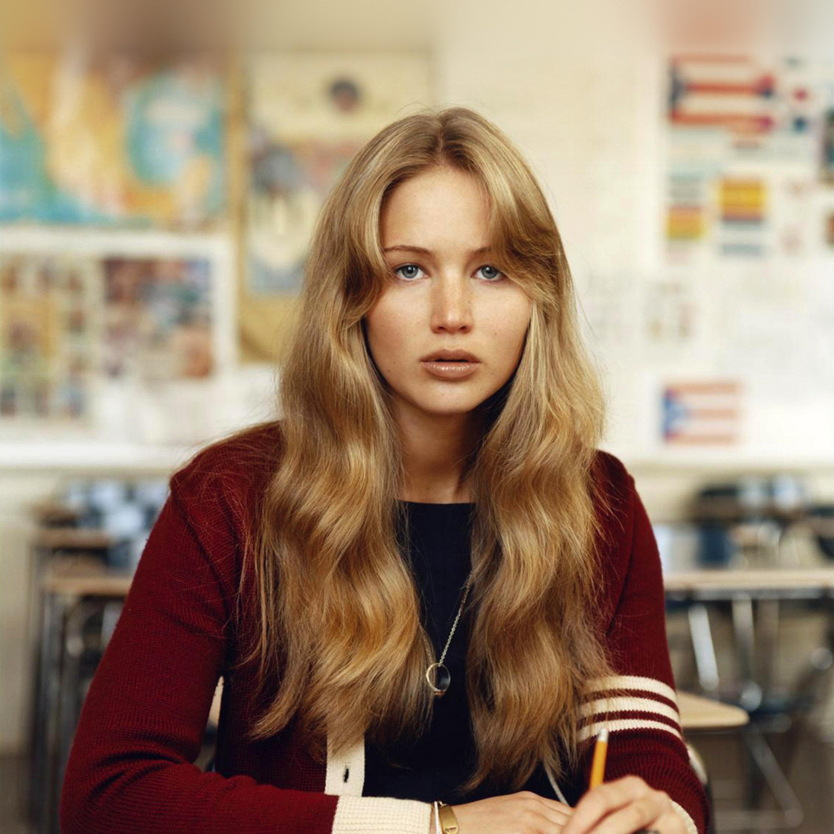 Hr82 Jennifer Lawrence Girl Film Cute Wallpaper