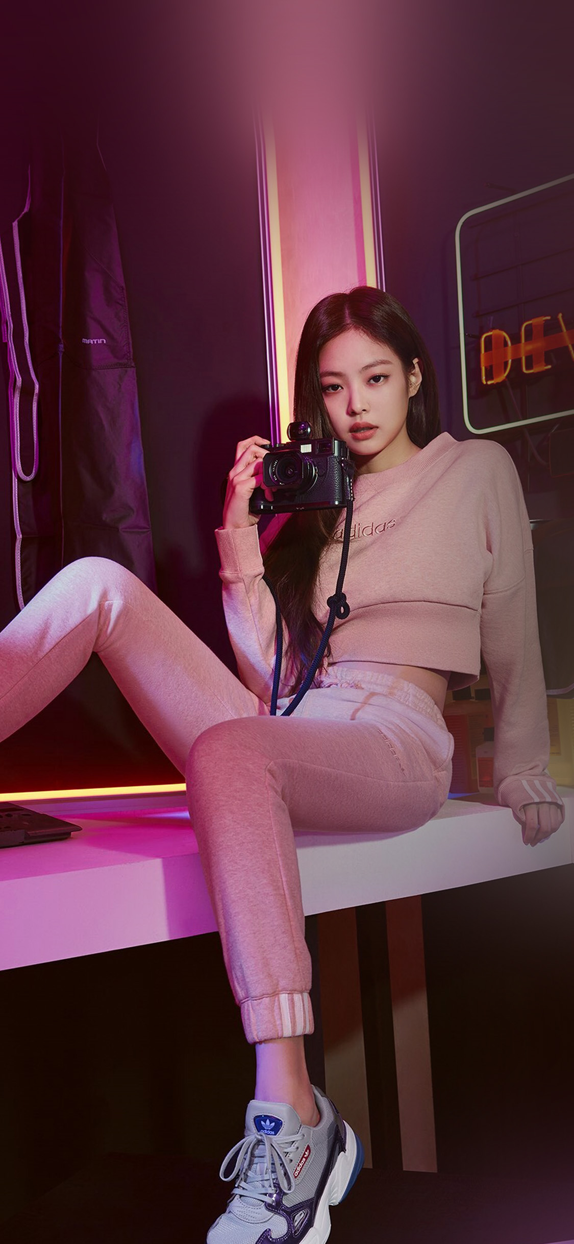 Iphonexpapers Com Iphone X Wallpaper Hr86 Asian Kpop Jennie Girl Blackpink