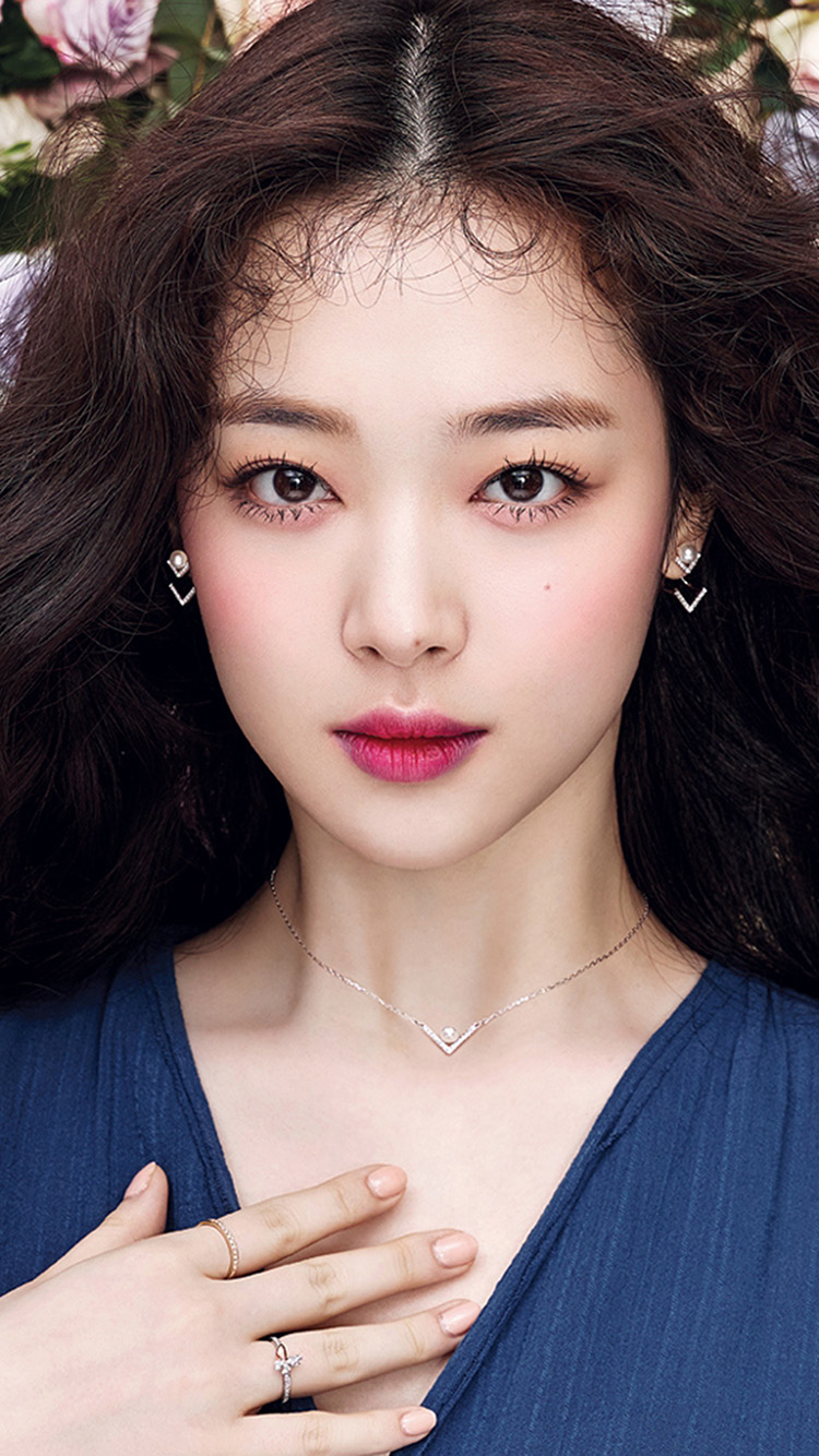 iPhone7papers.com-Apple-iPhone7-iphone7plus-wallpaper-hr99-girl-kpop-spring-sulli-pretty