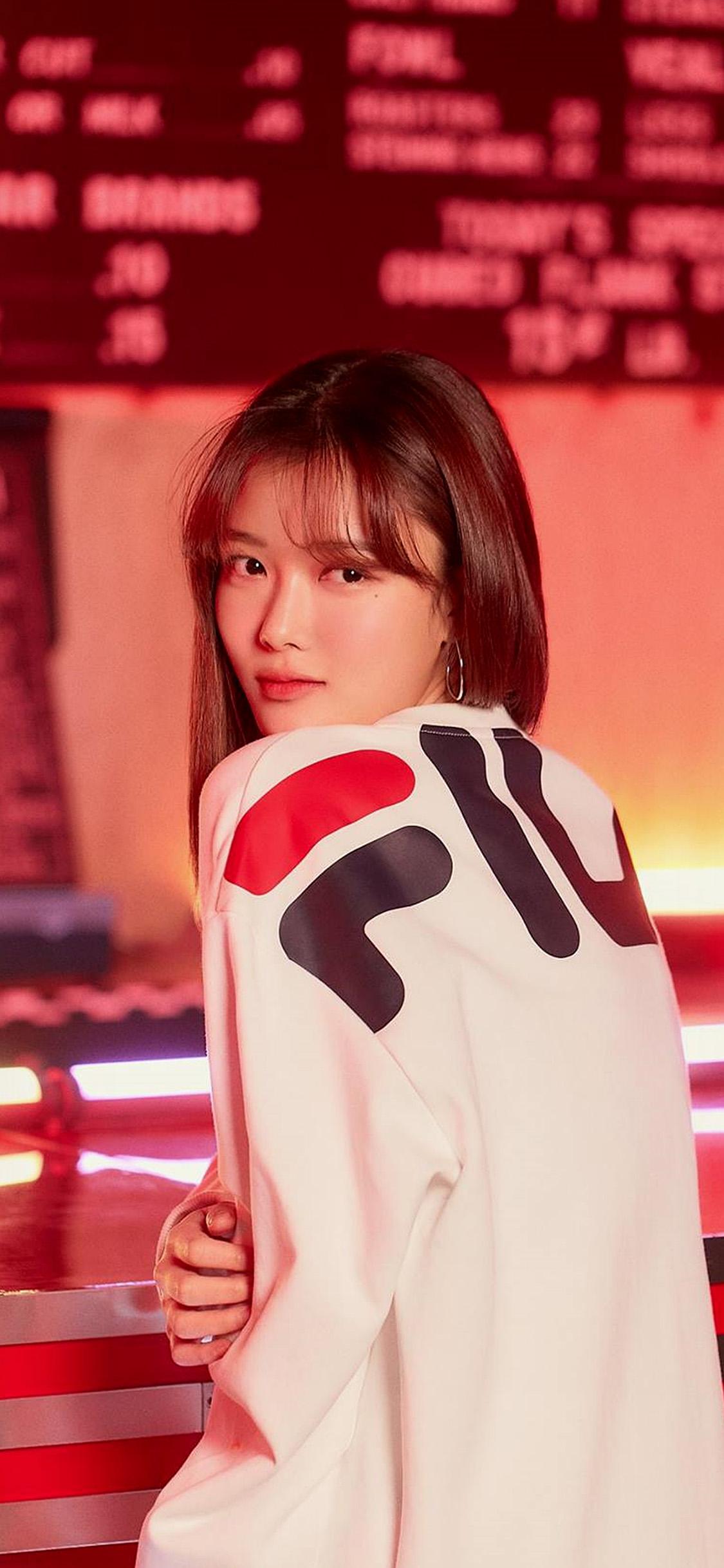 iPhonexpapers.com-Apple-iPhone-wallpaper-hs22-girl-kpop-red-fila-yujung-film