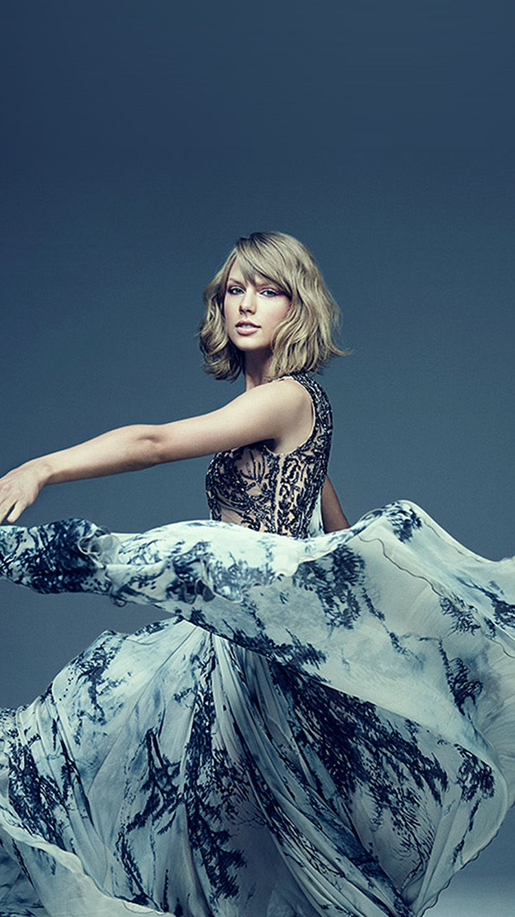 Papers.co-iPhone5-iphone6-plus-wallpaper-hs82-taylor-swift-dress-blue-music-girl